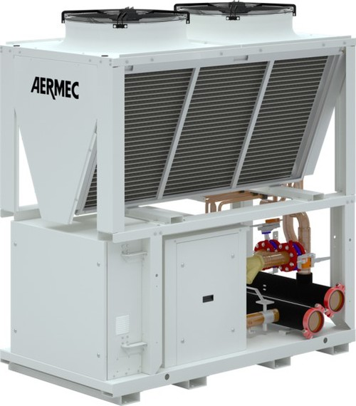 Compact, Flexible Aermec NYB Chillers Installed in NYC Skyscraper