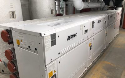 Reinvented Aermec WWM Modular Chiller Transforms NYC Multifamily