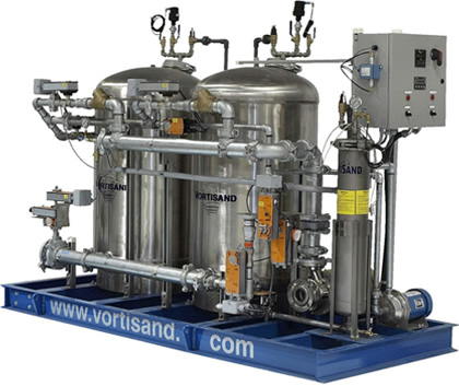 Vortisand Water Filtration