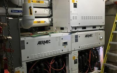 Reinvented Aermec WWM Modular Chiller Transforms NYC Multifamily