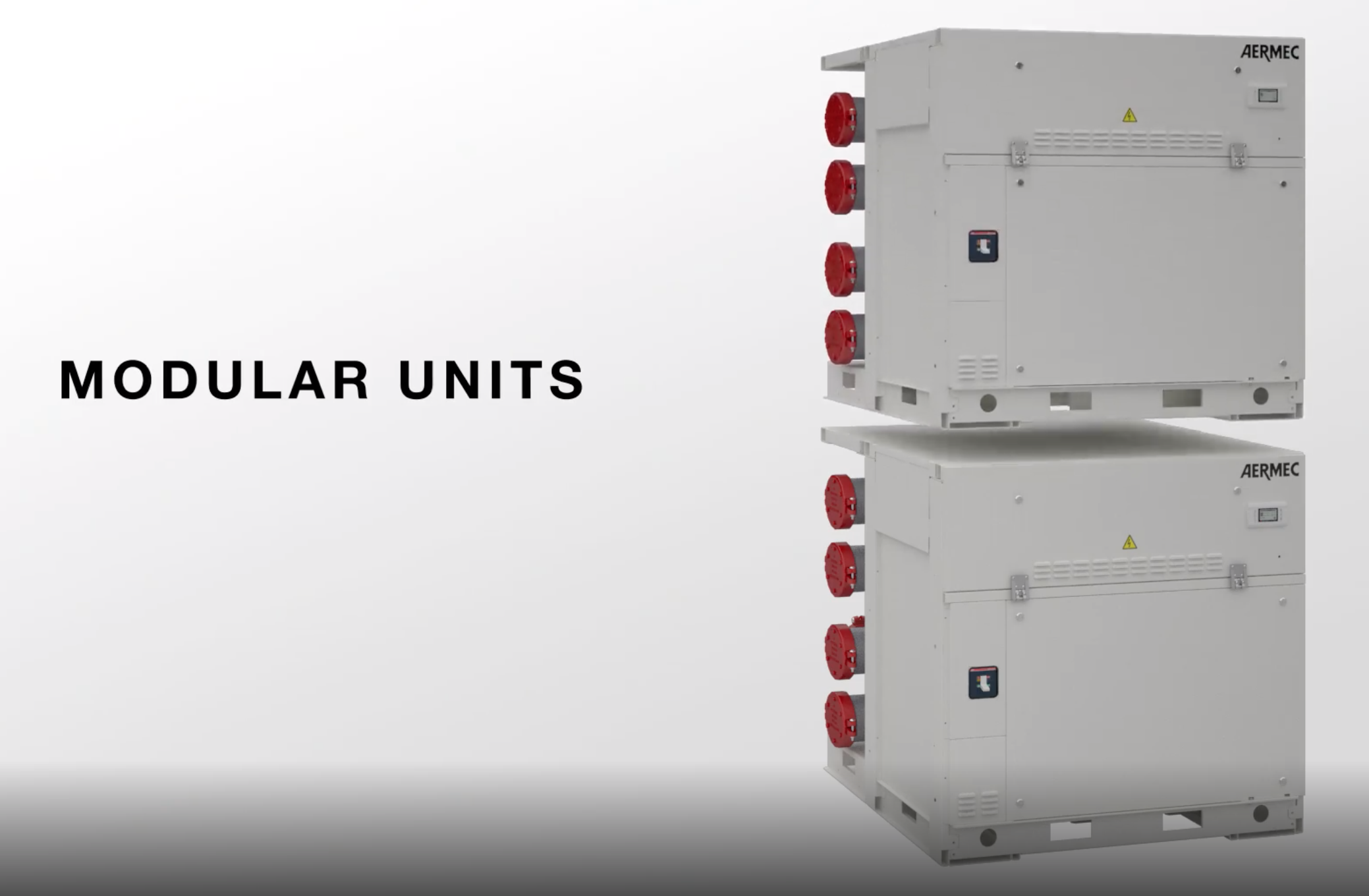 Aermec WWM Modular Chiller - Multiple Units