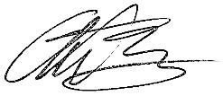 Anthony Sannazzaro Signature