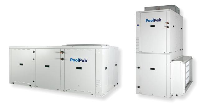 PoolPak ComPak PCP Series Pool Room Dehumidifier
