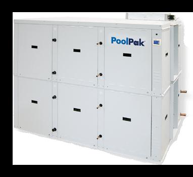 PoolPak ComPak PCP StakPak Series Pool Room Dehumidifier