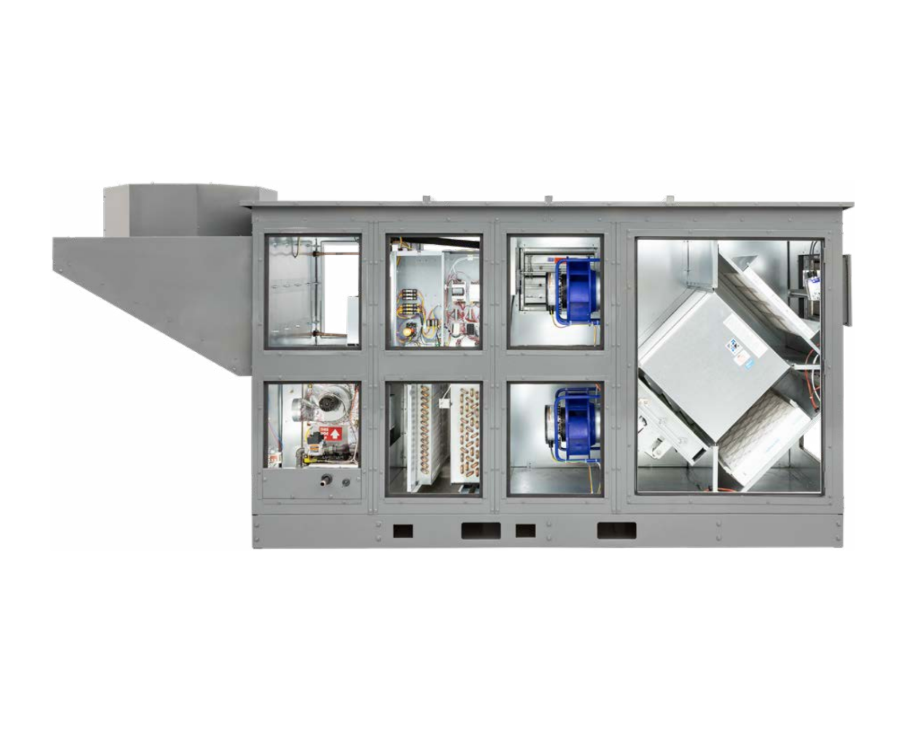 RenewAire DN Series DOAS Integrated Refrigeration