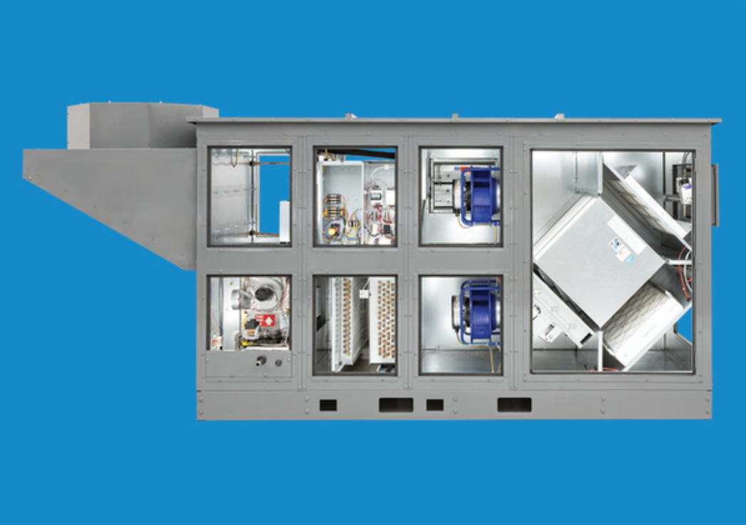 RenewAire DN Series DOAS With Integrated Refrigeration and Energy Recovery