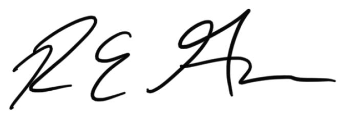 Richard Gerbe Signature