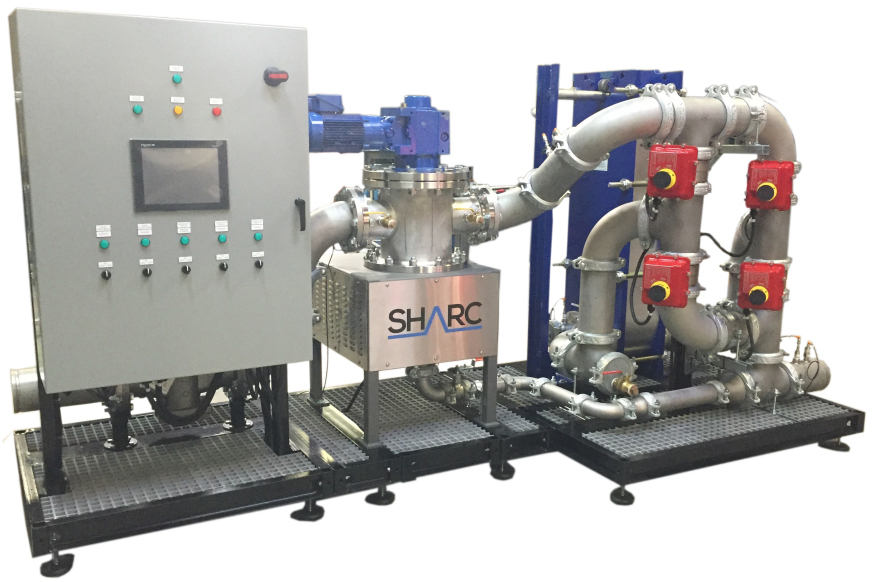 SHARC Wastewater Energy Recovery