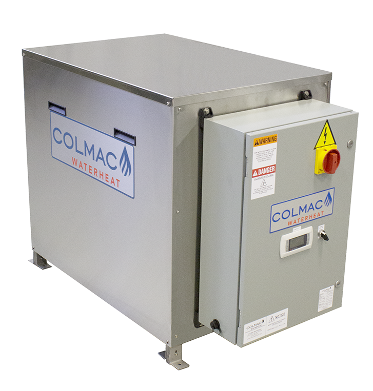 Colmac CxW Series – Modular, Water-Source Heat-Pump Water Heater