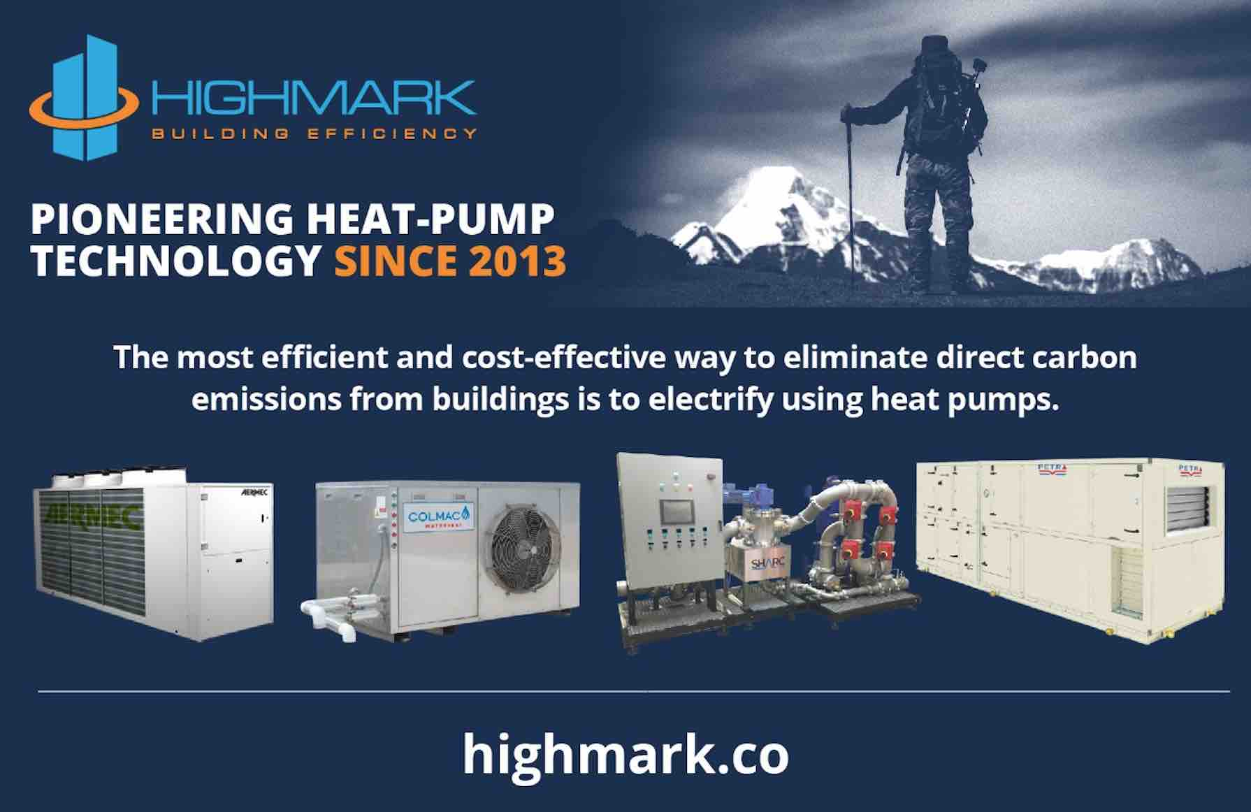 HIGHMARK - Pioneering Heat-Pump Technology Since 2013